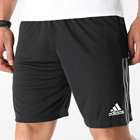 adidas - Short Jogging A Bandes Juventus GR2962 Noir