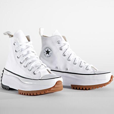Converse - Baskets Femme Run Star Hike Hi 166799 White black Gum