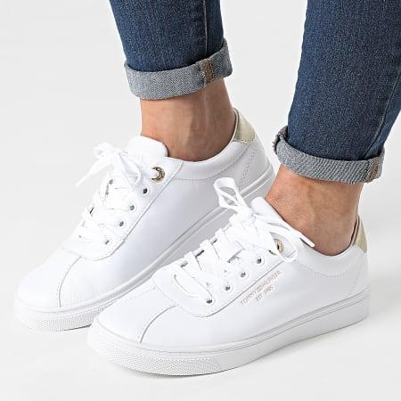 Tommy Hilfiger - Baskets Femme Court Leather 5795 White