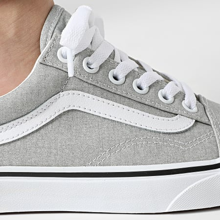 Vans - Baskets Femme Old Skool U3BX1K Silver True White
