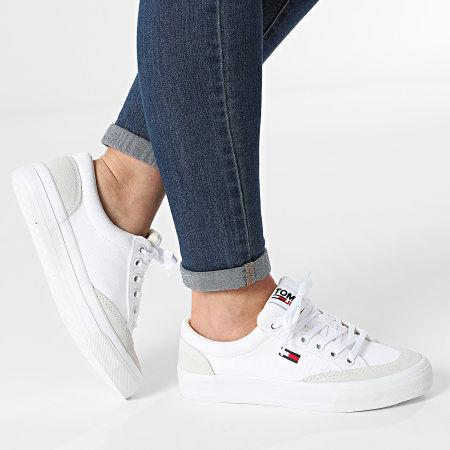 Tommy Jeans - Baskets Femme Low Cut 1420 White