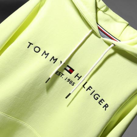 Tommy Hilfiger - Sweat Capuche Logo 1599 Vert Anis