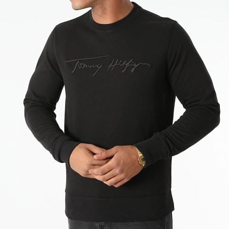 Tommy Hilfiger - Sweat Crewneck Signature 8710 Noir