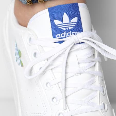 adidas - Baskets NY 90 H02170 Cloud White Royal Blue