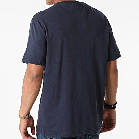 Tommy Jeans - Tee Shirt Timeless Tommy 0939 Bleu Marine