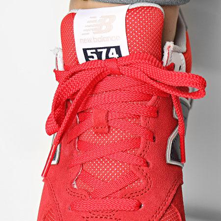 New Balance - Baskets Lifestyle 574 ML574SP2 Red