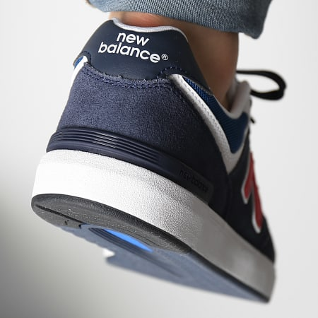 New Balance - Baskets Lifestyle 574 AM574ANR Navy