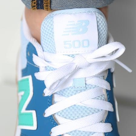 New Balance - Baskets Lifestyle 500 GM500MR1 Blue