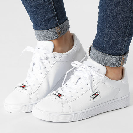 Tommy Jeans - Baskets Femme Clean Cupsole 1425 White