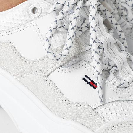 Tommy Jeans - Baskets Femme Lightweight 1436 White