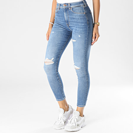 Tommy Jeans - Jean Skinny Femme Sylvia 0304 Bleu Denim