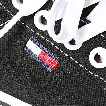 Tommy Jeans - Baskets Femme Low Cut Sneaker 1420 Noir