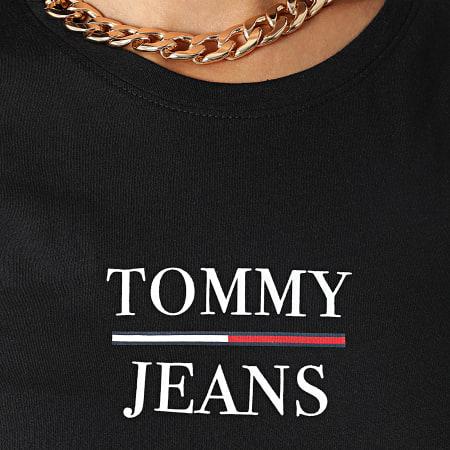 Tommy Jeans - Tee Shirt Femme Skinny Essential 0411 Noir