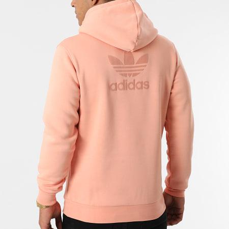 adidas - Sweat Capuche A Bandes H09145 Rose