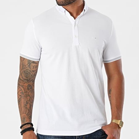 Classic Series - Polo Manches Courtes 1101 Blanc