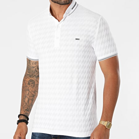 Classic Series - Polo Manches Courtes 1080 Blanc