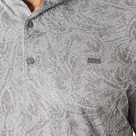 Classic Series - Polo Manches Courtes 1123 Gris Anthracite