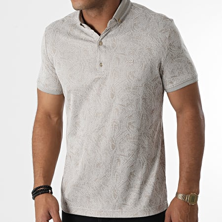 Classic Series - Polo Manches Courtes 1123Taupe