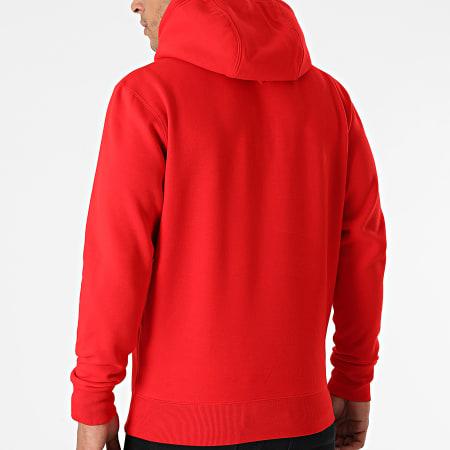 Tommy Hilfiger - Sweat Capuche Regular Fleece 9593 Rouge