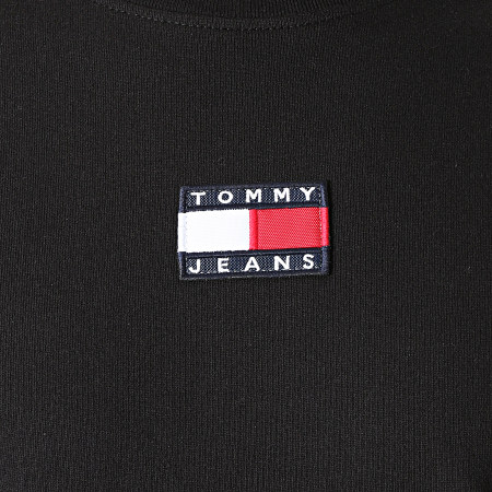 Tommy Jeans - Tee Shirt Tommy Badge 0925 Noir