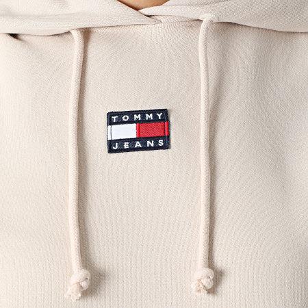 Tommy Jeans - Sweat Capuche Femme Center Badge 0403 Rose