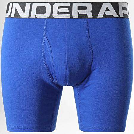 Under Armour - Lot De 3 Boxers 1363617 Gris Bleu Roi Bleu Marine