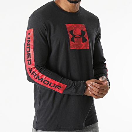 Under Armour - Tee Shirt Manches Longues UA Camo Boxed Sportstyle 1366464 Noir