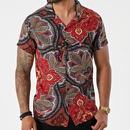 Classic Series - Chemise Manches Courtes CA04 Rouge