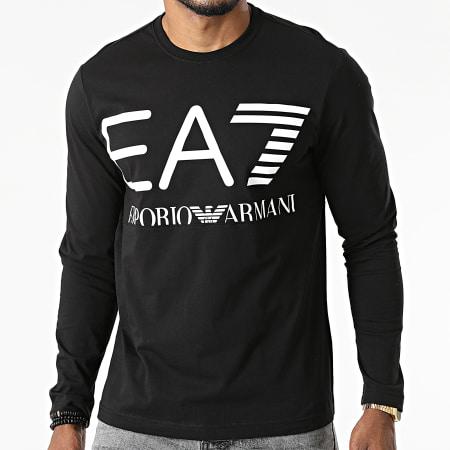 EA7 Emporio Armani - Tee Shirt Manches Longues 6KPT30-PJ6EZ Noir