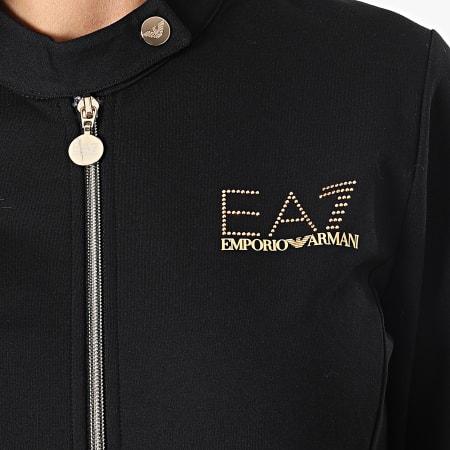EA7 Emporio Armani - Ensemble De Survêtement Femme 6KTV66-TJALZ Noir Doré