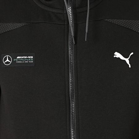 Puma - Sweat Zippé Capuche Mercedes AMG Petronas 531878 Noir