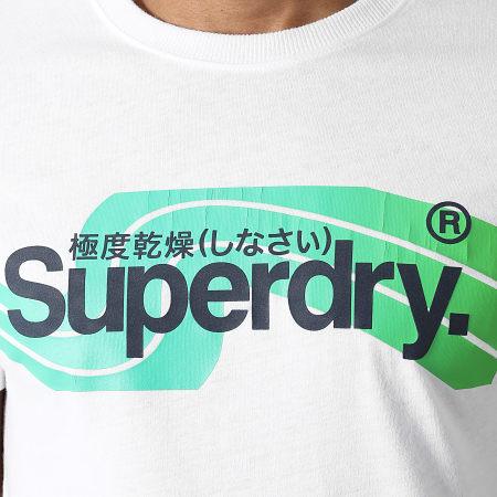 Superdry - Tee Shirt Classic Cali M1011007A Blanc