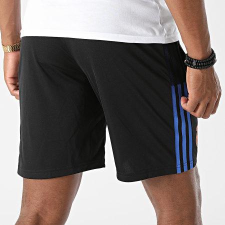 adidas - Short Jogging A Bandes Real Madrid GR4315 Noir
