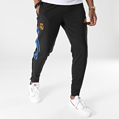 adidas - Pantalon Jogging A Bandes Real Madrid GR4321 Noir
