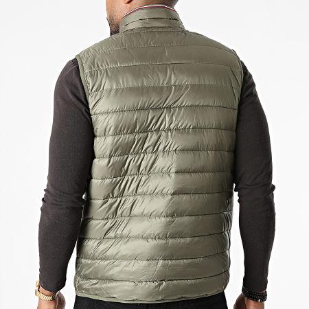 Tommy Hilfiger - Doudoune Sans Manches Packable Circular 8762 Vert Kaki