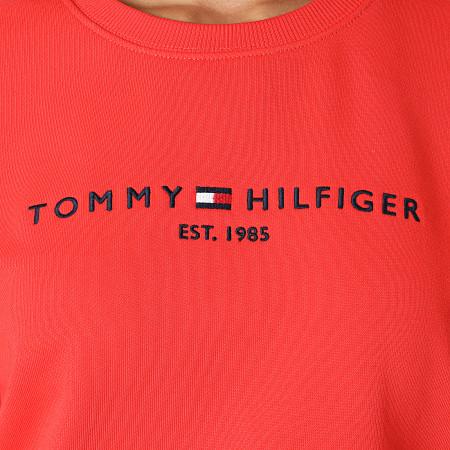 Tommy Hilfiger - Sweat Crewneck Femme Essential 8220 Corail