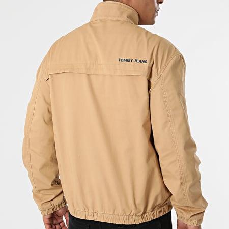 Tommy Jeans - Veste Zippée Modern Harrington 0965 Camel Clair