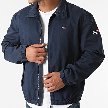Tommy Jeans - Veste Zippée Modern Harrington 0965 Bleu Marine