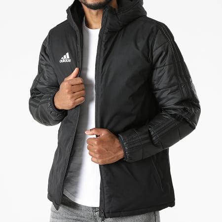 adidas - Veste Zippée Capuche A Bandes JKT18 CV8271 Noir