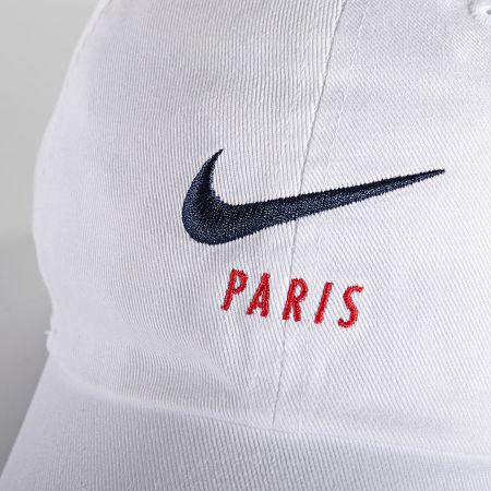Nike - Casquette Baseball PSG Heritage 86 Blanc