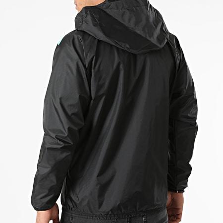 Puma - Veste Zippée Capuche OM All-Weather 764751 Noir