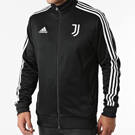 adidas - Veste Zippée A Bandes Juventus GR2929 Noir