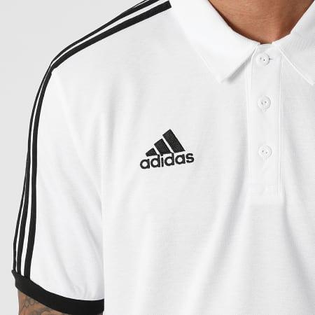 adidas - Polo Manches Courtes A Bandes Juventus GR2932 Blanc