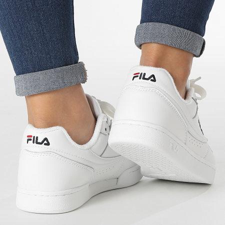 Fila - Baskets Femme Arcade Low 1010619 White Fila Navy