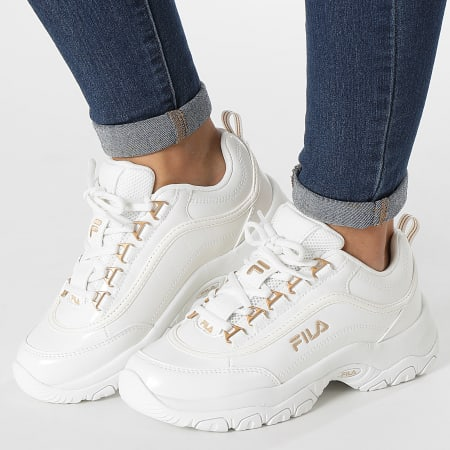 Fila - Baskets Femme Strada F Low 1011349 White