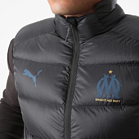 Puma - Doudoune Sans Manches OM Casual Down 764790 Noir