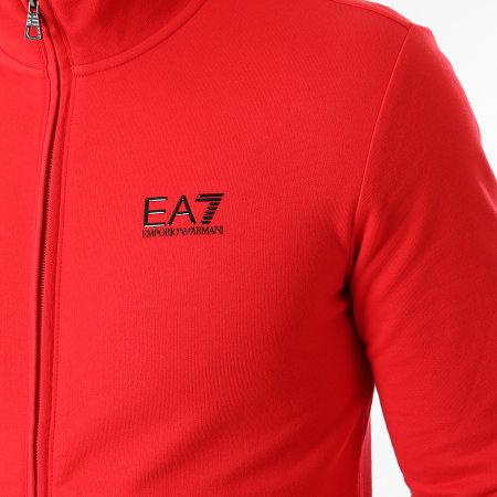 EA7 - Veste Zippée 8NPM01-PJ05Z Rouge