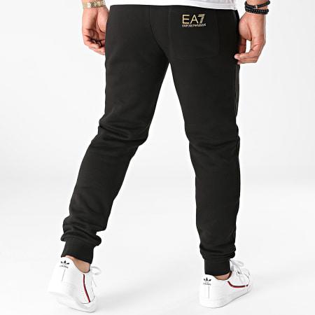 EA7 - Pantalon Jogging 8N99B5-PJ07Z Noir Doré