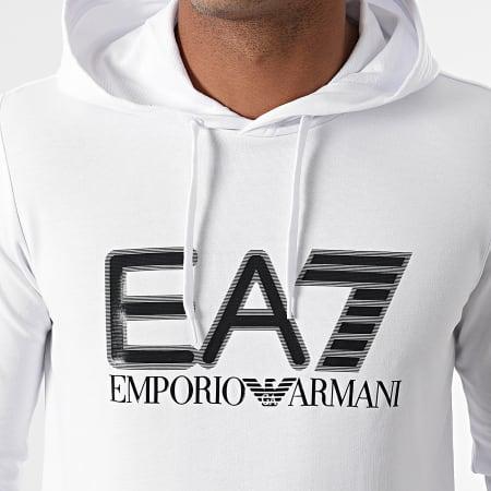 EA7 Emporio Armani - Sweat Capuche 6KPM62-PJ05Z Blanc
