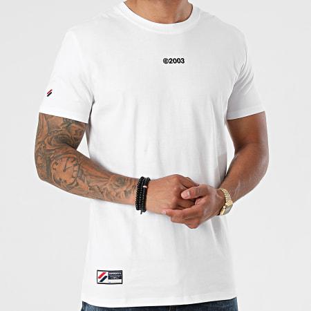 Superdry - Tee Shirt Corporate Logo M1011139 Blanc